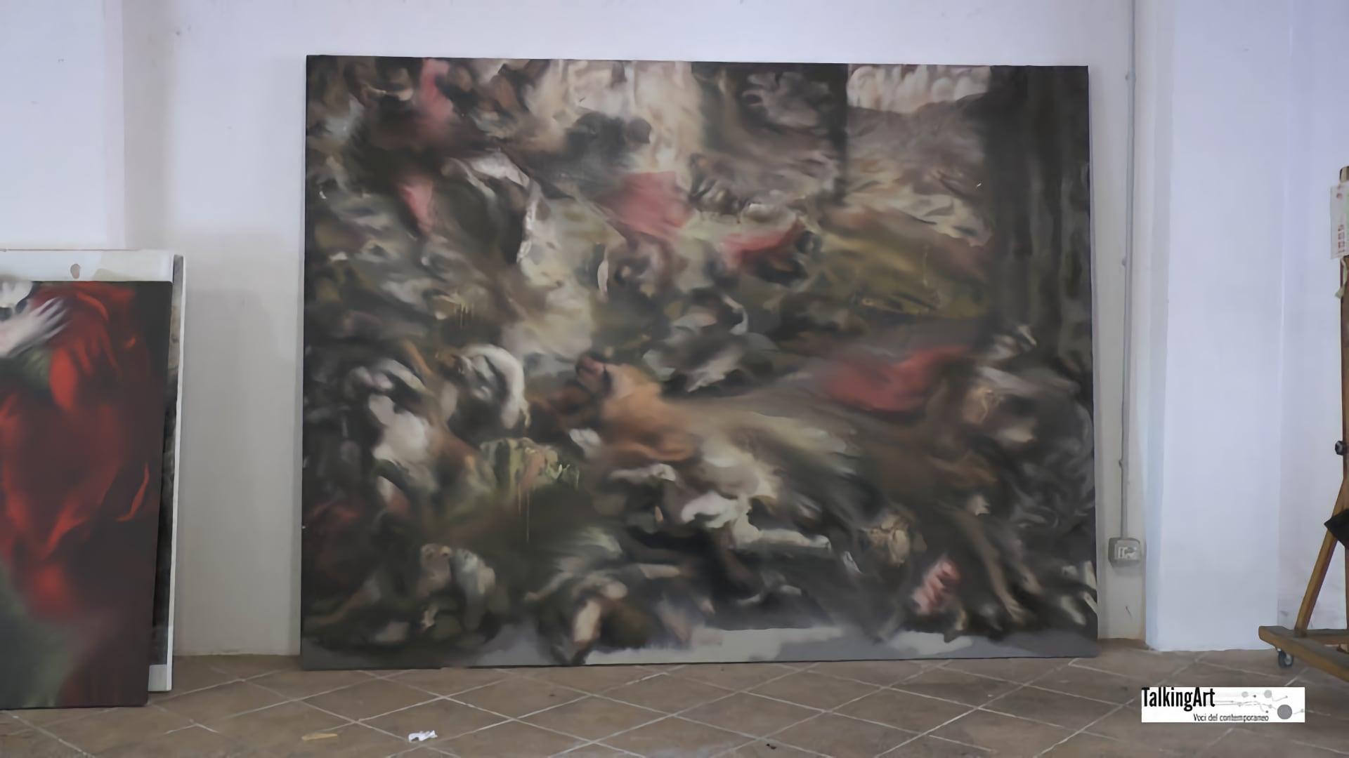 JORGE POMBO-dipinto