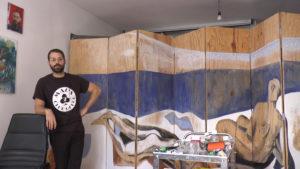 Incontro con il pittore Giovanni Copelli nel suo studio a Reggio Emilia